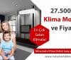 27500 BTU Klima Modelleri ve Fiyatları